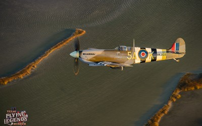 Texas Flying Legends has Achieved Its Aim to Operate a Spitfire!