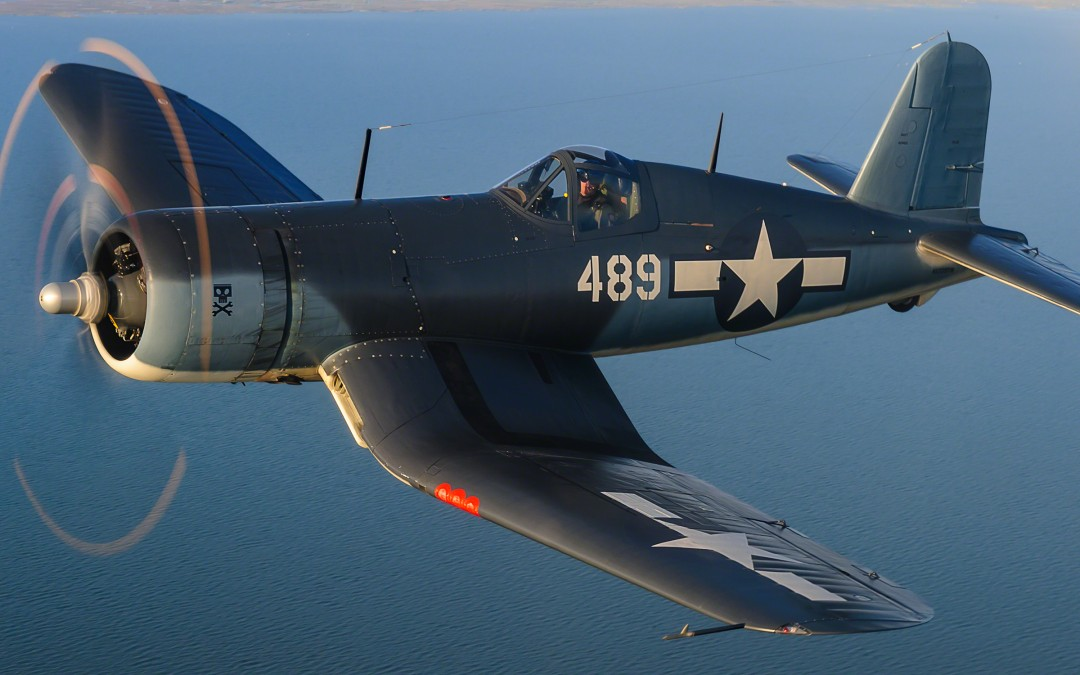 "The Story Behind the FG-1D Corsair ""Whistling Death"""