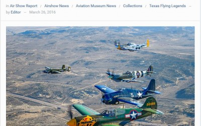 Warbirds News Publishes Article on Museum