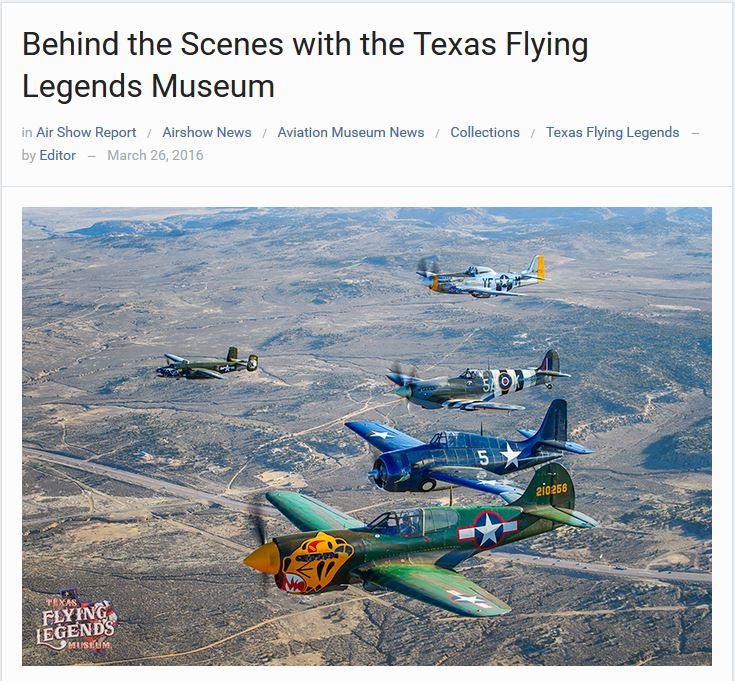 Warbirds News TFLM LACA