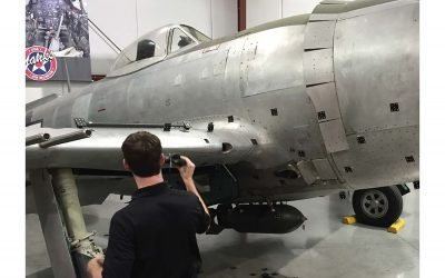 Latest Update to the Restoration of the P-47 Razorback