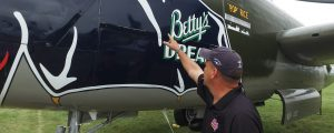 "Walk Around the B-25J ""Betty's Dream"" with Alan Miller"