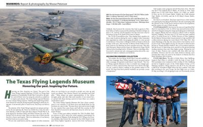 World Airshow News Presents the Texas Flying Legends