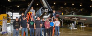 Minot AFB Volunteers for TFLM Cleaning Party