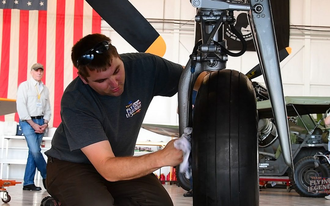 Inside the Hangar: Flat tire on the Runway