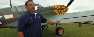 Walk Around the P-40K Warhawk with Bernie Vasquez