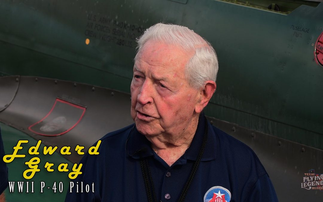 Edward E Gray: WWII P-40 Pilot Part 1